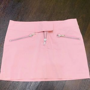 Pink mini skirt Guess Collection